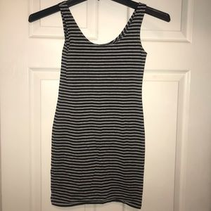 Striped bodycon tank dress.Comfy and cute.Like new